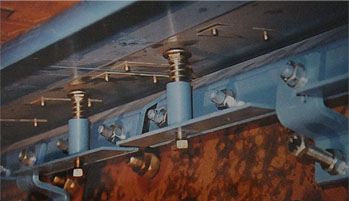 Example of installation of RBA-sealings at rollers